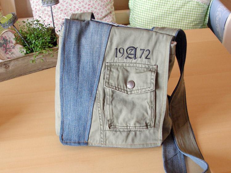 Tasche Aus Alter Jeanshose Und Jacke Cozy And Cuddly