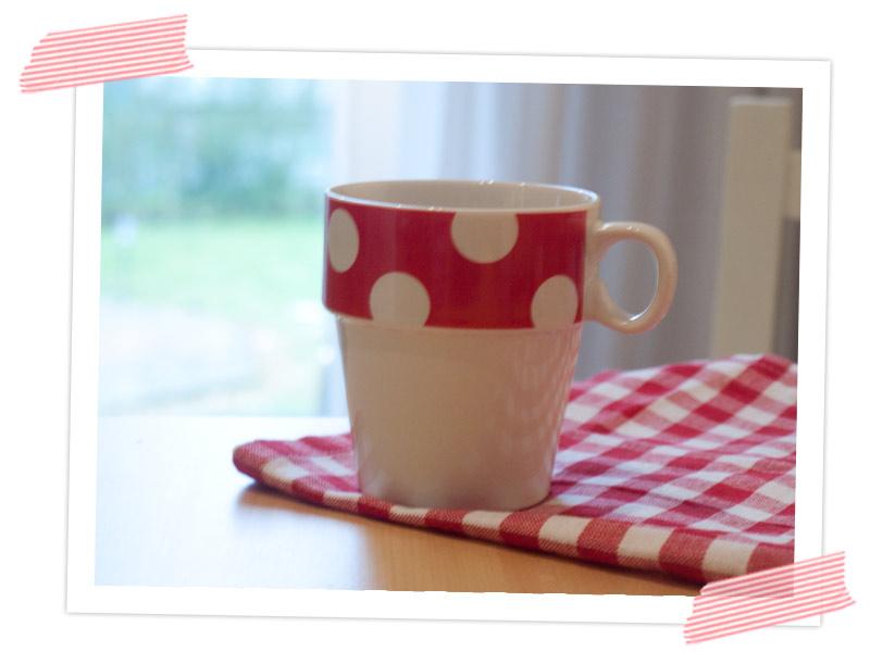 Erstmal einen Kaffee aus der Lieblingstasse trinken und dann in den Arbeitstag starten!