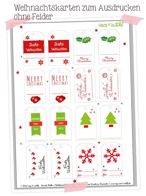 Adventskalender t rchen nr 20 geschenkanh nger zum for Lustige weihnachtskarten zum ausdrucken kostenlos