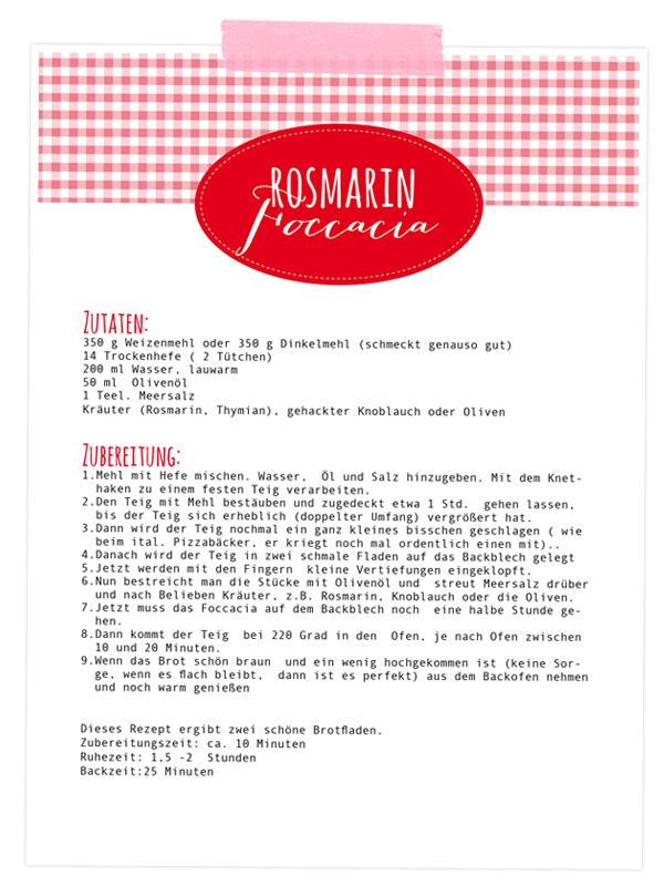 Knuspriges Foccacia - einfaches easy peasy Rezept