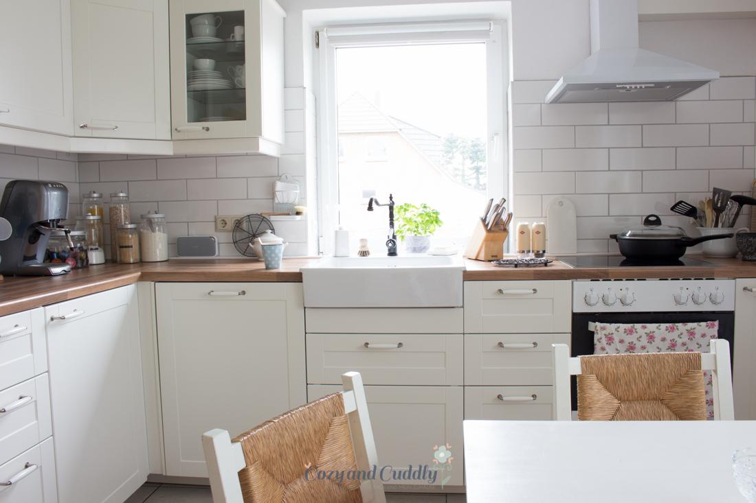 Küchenzeile ikea  Die neue Ikea-Küche. Auf diesen Post habe ich mich ewig gefreut ...