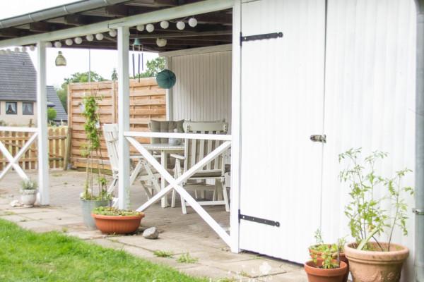 Gartenliebe Teil 2: Unser Carport wird eine Laube