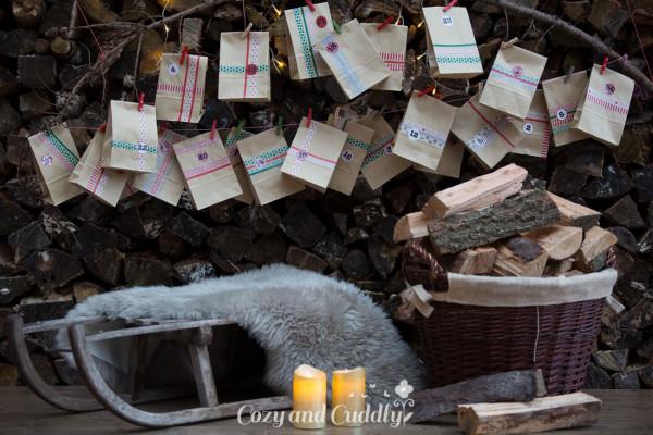 Unser Adventskalender kommt dieses Jahr von Tchibo (Werbung)