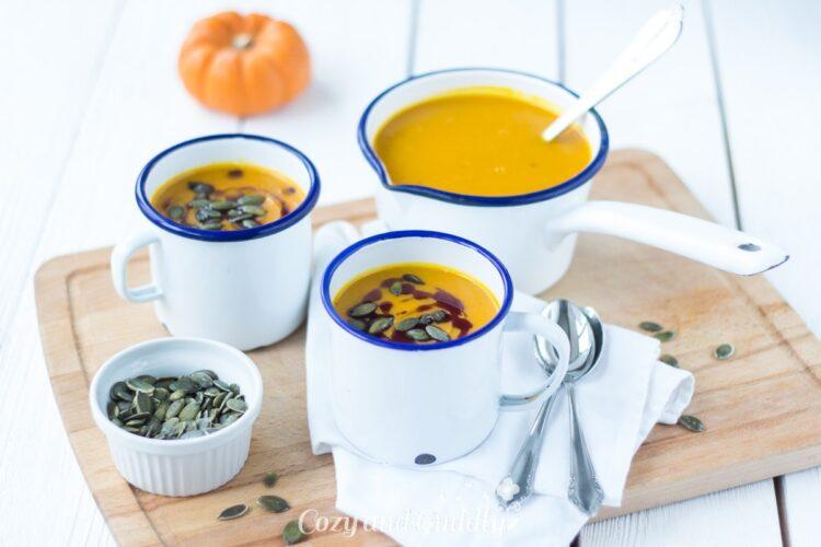Lecker, Herbstlich und wärmt von Innen: Rezept für Kürbisuppe