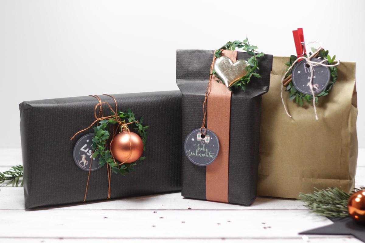Adventskalender Türchen Nr. 21 U2013 Geschenke Hübsch Verpacken Mit Tollen  Weihnachts Geschenkanhängern Zum Ausdrucken